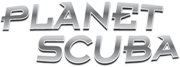 Planet Scuba Dive Shop Logo